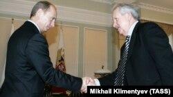 Владимир Путин и Владимир Торлопов