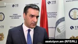 Հայաստանի մարդու իրավունքների պաշտպան Արման Թաթոյանը, արխիվ