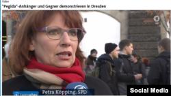 Министр по делам интеграции Саксонии социал-демократ Петра Кёппинг