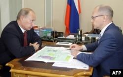 Владимир Путин и бывший глава