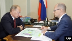 Владимир Путин и Сергей Кириенко (архивное фото)