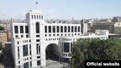 Armenia -- The Armenian Foreign Ministry building, Yerevan.