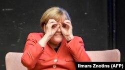 Германиянын канцлери Ангела Меркел Таллиндеги саммитте, 29-сентябрь 2017-жыл.