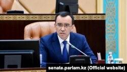 Маулен Ашимбаев, спикер сената парламента Казахстана.