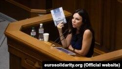 Вікторія Сюмар, народна депутатка від «Європейської солідарності»