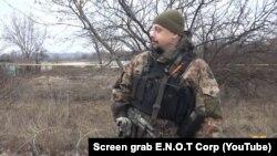 Скріншот з видаленого відео на YouTube-каналі російського воєнізованного націоналістичного угруповання E.N.O.T Corp