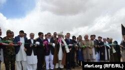 غنی: میخواهم آغاز به کار این پروژه بزرگ را به تمام مردم افغانستان تبریک بگویم.