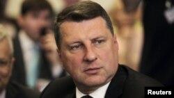 Латвияның жаңа сайланған президенті Раймондс Вейонис.