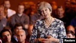 Премьер-министр Соединенного Королевства Тереза Мэй. Британия, 23 июля 2018 года.