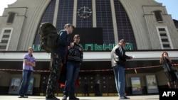 Ілюстраційне фото: під час одного з попередніх неправдивих повідомлень про «замінування» Центрального вокзалу в Києві