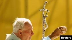 Иоанн Павел II в Нью-Йорке. 6 октября 2005 г