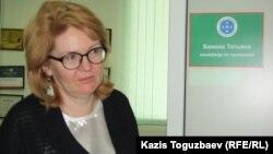 "Татьяна Бажова, сотрудник НПО ""Аман-саулык"". Алматы, 26 марта 2014 года."