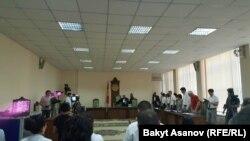Слушания в Верховном суде Кыргызстана по делу Азимжана Аскарова.