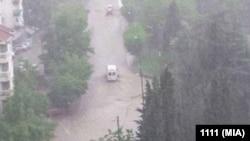 Skopye gecə fırtınasından sonra, 7 avqust, 2016