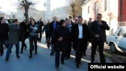 Претседатетелот на СДСМ, Зоран Заев во Ресен.