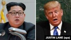 ԱՄՆ նախագահ Դոնալդ Թրամփ, Հյուսիսային Կորեայի առաջնորդ Կիմ Չեն Ուն