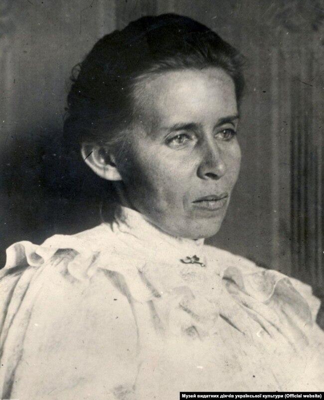 Леся Українка (1871–1913). Київ, травень 1913 року. Фото Юрія Тесленка