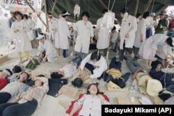 Mulți dintre studenții care au declarat greva foamei au fost îngrijiți de către medici în spitale de campanie.