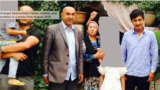 CHINA -- Nursimangul Abdureshid's father, mother, and two brothers in a photo from August 2015.