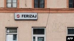 Pamje e ndërtesës së stacionit hekurudhor në Ferizaj (foto e vitit të kaluar)