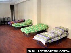 Tbilisidə evsizlər üçün sığınacaq