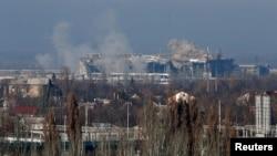 Обстріли Донецького аеропорту проросійськими гібридними силами. Донбас, 9 листопада 2014 року