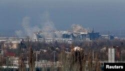 Донецький аеропорт у листопаді 2014 року