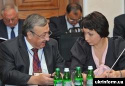 Віктор Татьков і Олена Лукаш