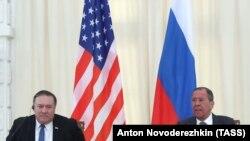 یکی از هدفهای اصلی دیدار مایک پومپئو و سرگئی لاوروف بهبود مناسبات واشینگتن و مسکو عنوان شده است.