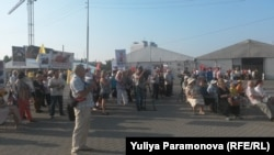 """""""Молчаливый митинг"""" в Калининграде (1 сентября 2015 года)"""