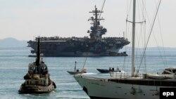 Айни пайтда¸ АҚШнинг USS George H.W. Bush крейсери ҳозирда Қора денгизга яқин сув ҳавзасида сузмоқда.