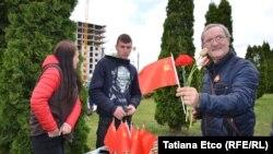 9 Mai, paradă și comerț cu simboluri sovietice
