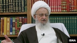 "Ayatollah Naser Makarem Shirazi's office issued the statement a few days after the Culture Ministry claimed that Jannati had not been able to meet the ayatollah during last week's trip to Qom due to the cleric's ""illness."""