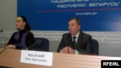 Алег Пякарскі, былы першы намесьнік міністра унутраных справаў