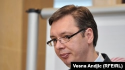 Премьер-министр Сербии Александр Вучич