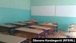 prazna učionica u Sarajevu tokom štrajka podrške prosvjetnim radnicima u USK, ilustrativna fotografija