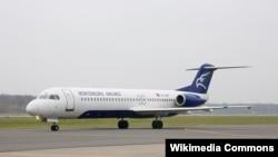 Avion kompanije Montenegro Airlines