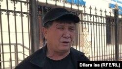 Активист из Шымкента Нуржан Мухамедов. Март 2020 года.