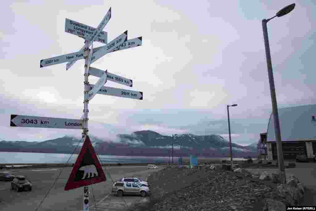 Норвежский город Лонгйир – центр Шпицбергена. Здесь расположен самый северный аэропорт с регулярными рейсами в мире.