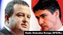 Ivica Dačić i Zoran Milanović