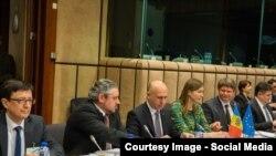 La reuniunea de la Bruxelles a Consiliului de Asociere