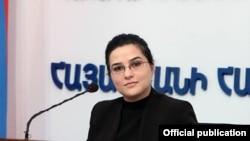 Пресс-секретарь МИД Армении АннаНагдалян (архив)
