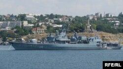 Фрегат ВМС України «Гетьман Сагайдачний» бере участь в операції НАТО «Активні зусилля»
