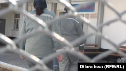 Женщины-заключенные в тюрьме в Южно-Казахстанской области.
