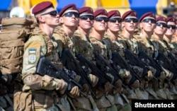 Военный парад в честь Дня независимости Украины, 24 августа 2018 года