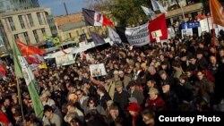 Одна из акций оппозиционных партий в Петербурге
