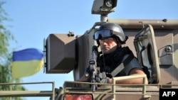 Украина сарбазы. (Көрнекі сурет)
