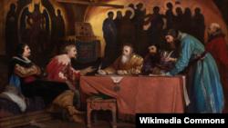 Вячеслав Шварц. Иностранные послы в Посольском приказе. 1867