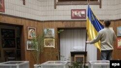 Избирательные участки готовы к работе. Киев, 16 января 2010 г