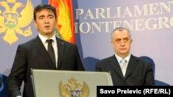 Nebojša Medojević i Predrag Bulatović, ilustrativna fotografija